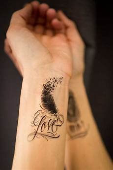 240 Mind Blowing Feather Tattoos Creativefan