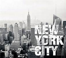 nyc wallpaper wall mural by ohpopsi black white grey skyline of new york city feature wall