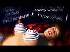 Chantilly Joyeux Anniversaire Happy Birthday