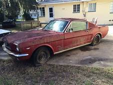 1966 Ford Mustang Project For Sale