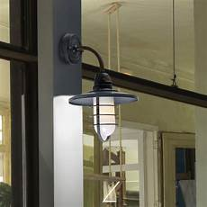 leds c4 cottage ip65 wall light in old grey and frosted glass