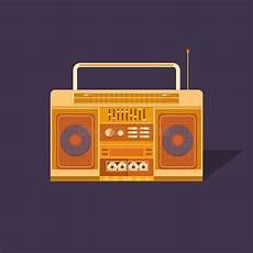 cassetta musica musica manifesto degli anni 90 e 80s registratore