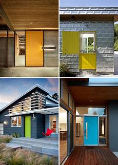 Colorful Contemporary Home 7 exles of colorful front doors that brighten up these
