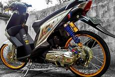 Beat Karbu Modifikasi by 50 Foto Gambar Modifikasi Beat Kontes Racing Jari