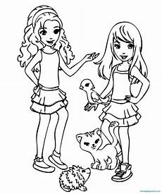 Malvorlagen Lego Friends Lego Friends Coloring Pages Coloring Pages For