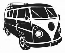 Vw Käfer Silhouette - vw silhouette car set by vectorio graphicriver