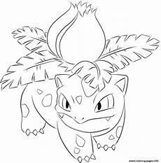 malvorlagen fuegro 002 ivysaur coloring pages printable