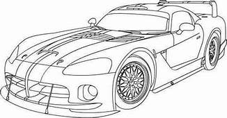 Dodge Viper Coloring Pages 01  Cars