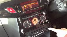 How To Set Change Time On Clock Radio In Citroen Ds3 Car