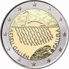 2 euros finlande 2 finland 2015 quot akseli gallen kallela quot graf