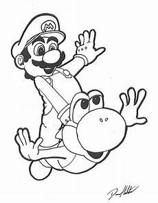 Malvorlagen Mario Und Yoshi Erscheinungsdatum Mario And Yoshi By Daren93 On Deviantart