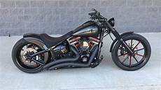 harley davidson softail custom breakout by the bike