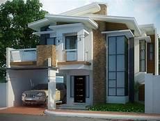 30 Gambar Tak Depan Rumah Minimalis 2 Lantai Modern