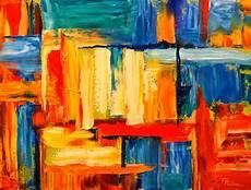 Garasi Lukisan Menilai Lukisan Abstrak