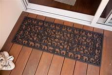 Black Rubber Door Mats Outside by Doormat 45x120 Cm Door Mat Doormat Outdoor