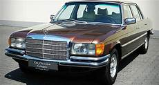 In The Of Luxury The Mercedes S Class W116 Classic