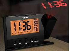 alarm clock time projection ceiling shelly lighting