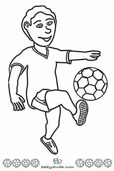 Malvorlage Junge Einfach Fu 223 Ausmalbilder Spielfeld Fu 223 Ballfieber