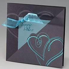 faire part mariage 233 l 233 gant iris 233 gris coeur ruban