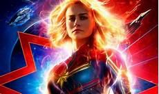 Captain Marvel Une Nouvelle Affiche Flamboyante