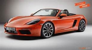Porsche 718 Cayman And Boxster To Launch In India  GariPoint