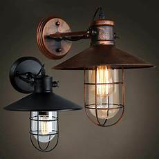 industrial nautical outdoor wall light retro loft rustic wall sconce l light ebay