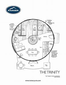 yurt house plans yurt floor plans rainier yurts floor plans