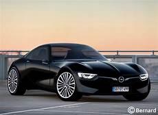 2019 opel gt bernard car design 2019 opel gt