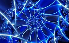 Abstract Neon Blue Wallpaper