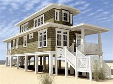 beach house plans on stilts modern beach house plans stilts house plans 170538