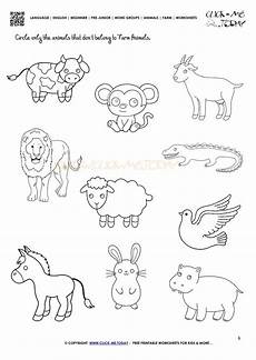 animals worksheets printable 14006 farm animals worksheet activity sheet 6 animal worksheets zoo animal activities animal groups