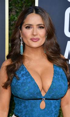 Salma Hayek Best Beauty Golden Globes Sofia Vergara Lucy Boynton And
