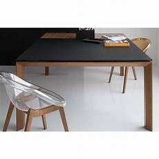 table extensible bois 15517 tables extensibles tables et chaises calligaris table repas extensible sigma glass 140x140 en