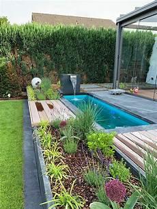 Wasserfall Garten Modern - quadratisches aluminium wasserfallobjekt mit langem