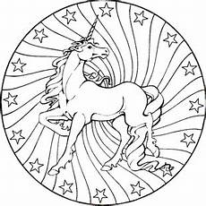 Malvorlage Pferd Mandala Mandala Muster Pferd