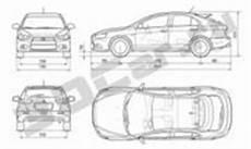 Mitsubishi Outlander Abmessungen - lancer cy0 abmessungen mitsuwiki