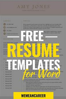 free resume templates downloadable resume template