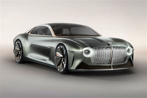 Bentley Rolls Out Electric, Eco-friendly Exp 100 Concept