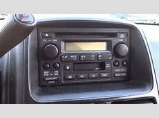 Radio reset code in 5 minutes for a 2001  Honda CRV CR V