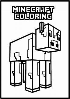Malvorlagen Minecraft Id Minecraft Coloring Pages 5