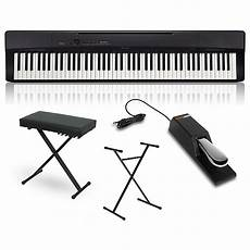 Casio Privia Px 160bk Digital Piano With Stand Sustain