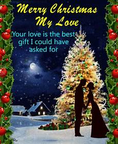 merry christmas my love free love ecards greeting cards 123 greetings