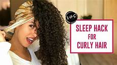 How To Style Curly Hair After Sleeping how to protect curly hair at curly hair