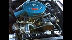 1966 Mustang 289 A Code Coupe Engine Compartment