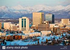 Alaska Anchorage City Home To 500 000 In