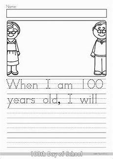 handwriting worksheets for 12 year olds 21384 100th day of school worksheets and activities no prep 100 days of school school worksheets