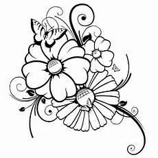 Ausmalbilder Zum Ausdrucken Kostenlos Blumen Blumen Ausmalbilder Coloring Pages