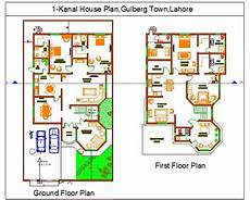 one kanal house plan layout plan of 1 kanal house muhammad qasim ashraf