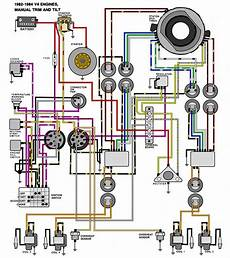 90 hp evinrude wiring diagram evinrude johnson outboard wiring diagrams mastertech marine