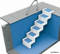 pool treppe statt leiter elegante l 246 sung zum nachr 252 sten